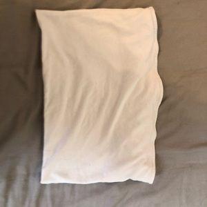Tilly's white tube top